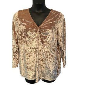 💥5/$25 Addition Elle gold top